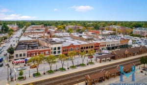 An Aerial Photo of La Grange Train Station